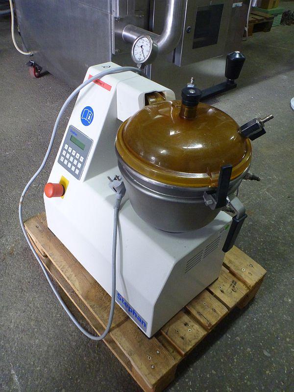 6 Liter Stephan Model UMC5 Stainless Steel Universal Lab Size Mixer
