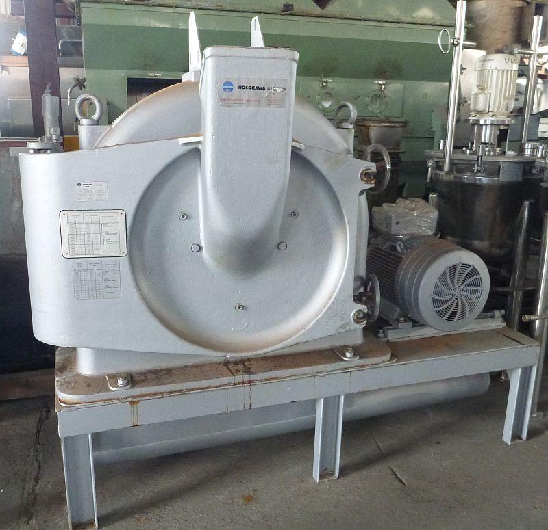 Hosokawa Alpine Carbon Steel Pin Mill Type 630 UPZ New 2009