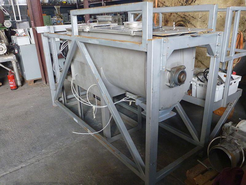 650 L Total Volume Stainless Steel Ribbon Blender