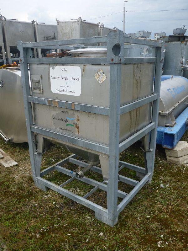 1000 l Vertical Stainless Steel Storage Tank
