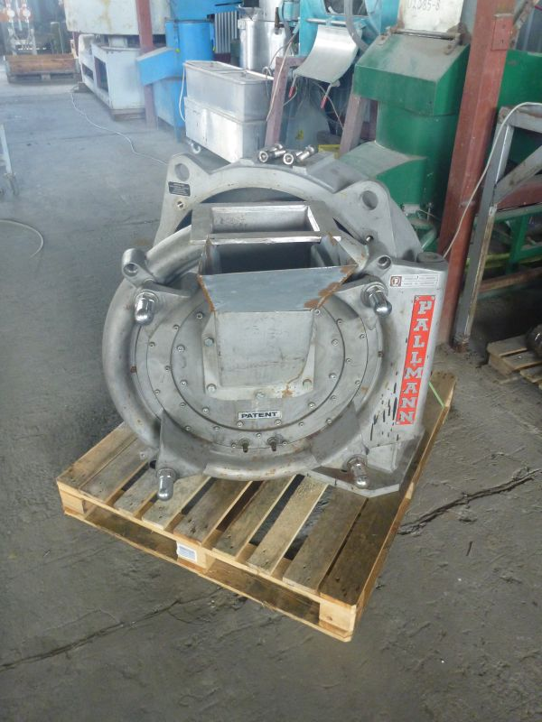 Stainless Steel Body Of Grinding Mill Pallmann Model PP6S Jacketed