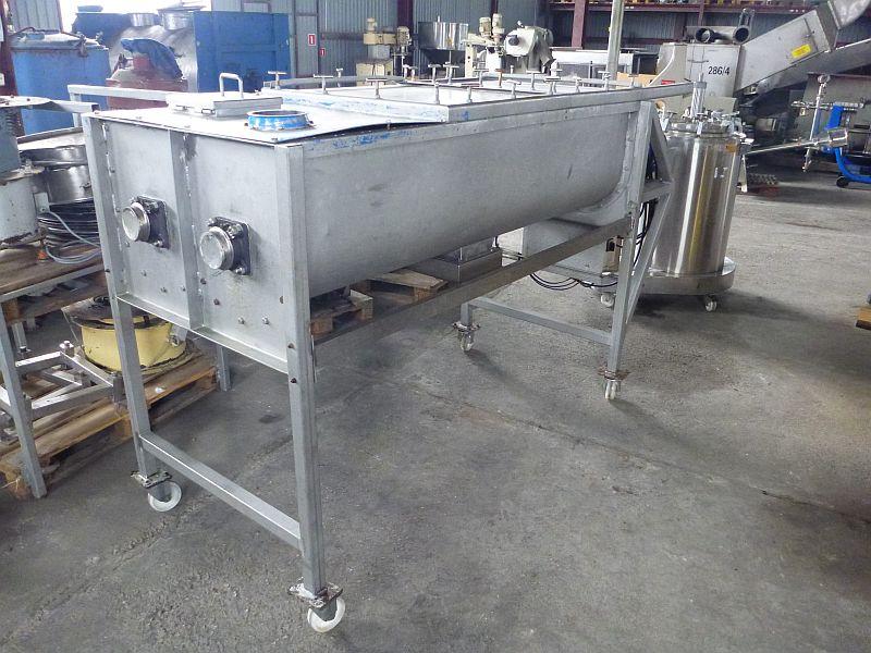 500 Liter Lalesse BV Stainless Steel Twin Ribbon Powder Mixer