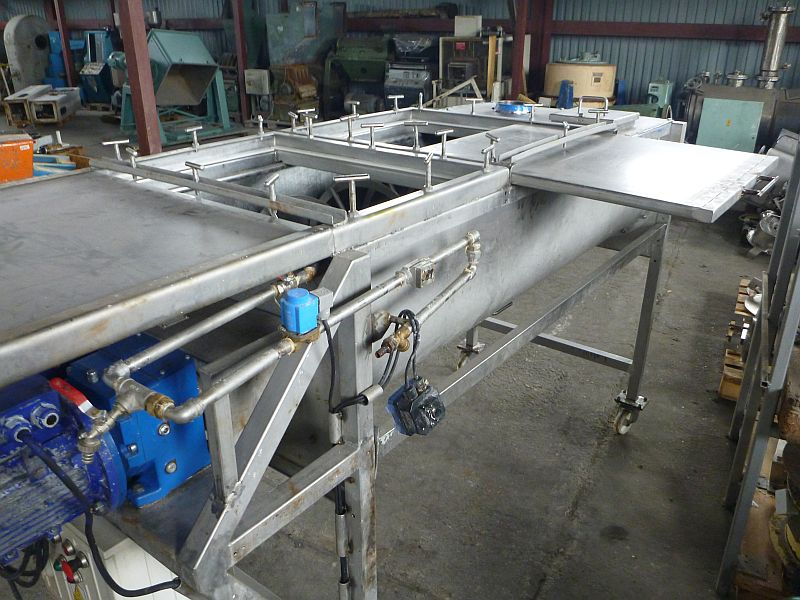 500 LTR SS LALESSE B.V.    8 KW TWIN RIBBONS    ZL38000-PL