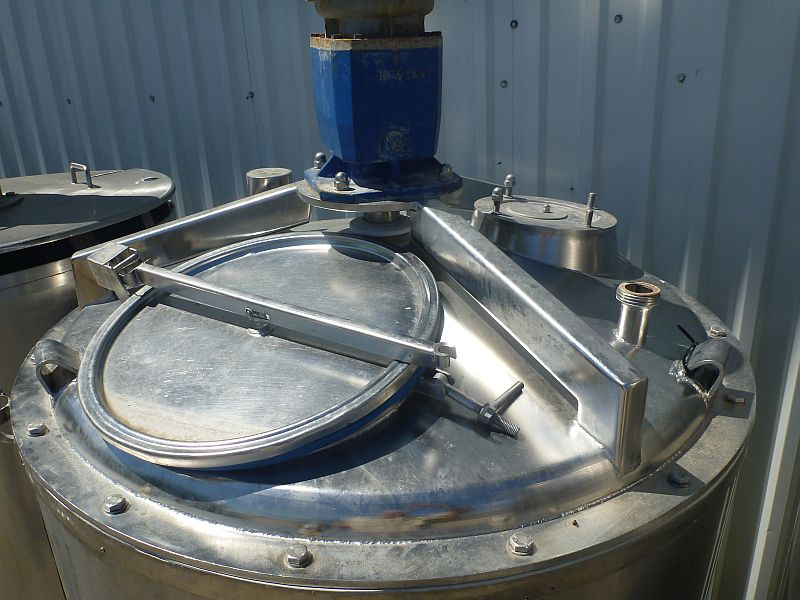 600 l Vertical Stainless Steel Mixing Tank