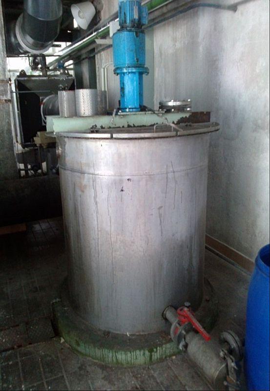 Buehler 316 Stainless Steel Fluid Bed Dryer Line