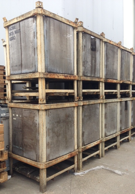 1,000 Litre Stainless Steel Rectangular Storage Tank