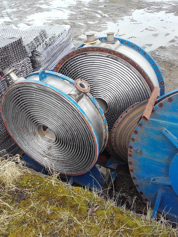 30 Sq. M. Chemat Spiral Heat Exchanger