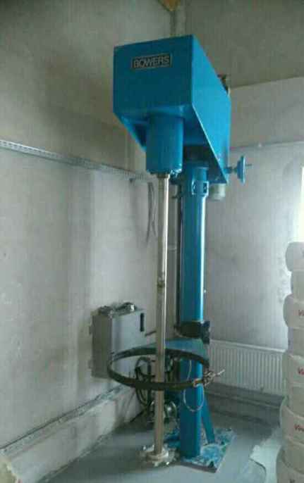 18.5 KW FCF BOWERS model 30 VSM SD Stainless Steel Dissolver