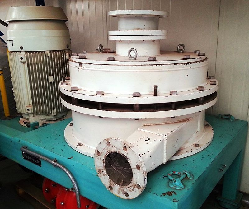Bauermeister Type GM 80.1 EX 75 kW ATEX Gap Mill