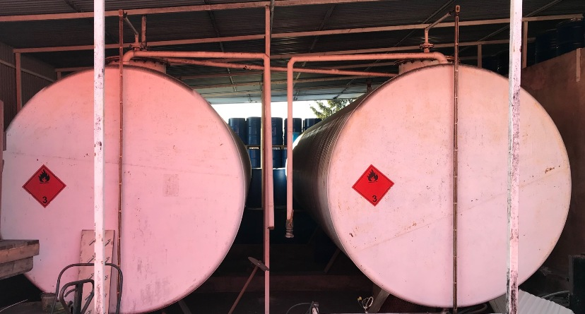 30 000 Litre Horizontal Storage Carbon Steel Tank