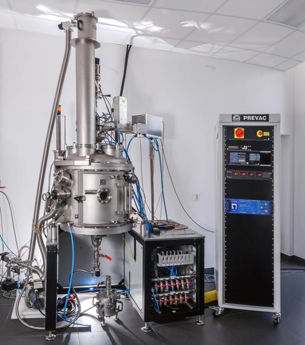 50 Litre PREVAC Stainless Steel Vertical Plasma Reactor