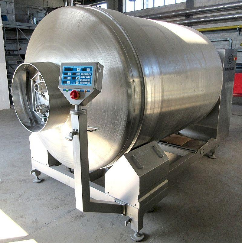 4000 L Stainless Steel Nowicki Vacuum Tumbler