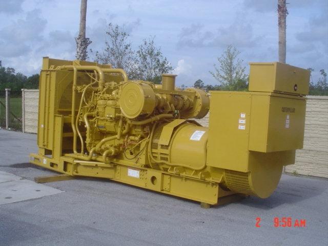 800 kw Skid Mounted Caterpillar Diesel Generator Set