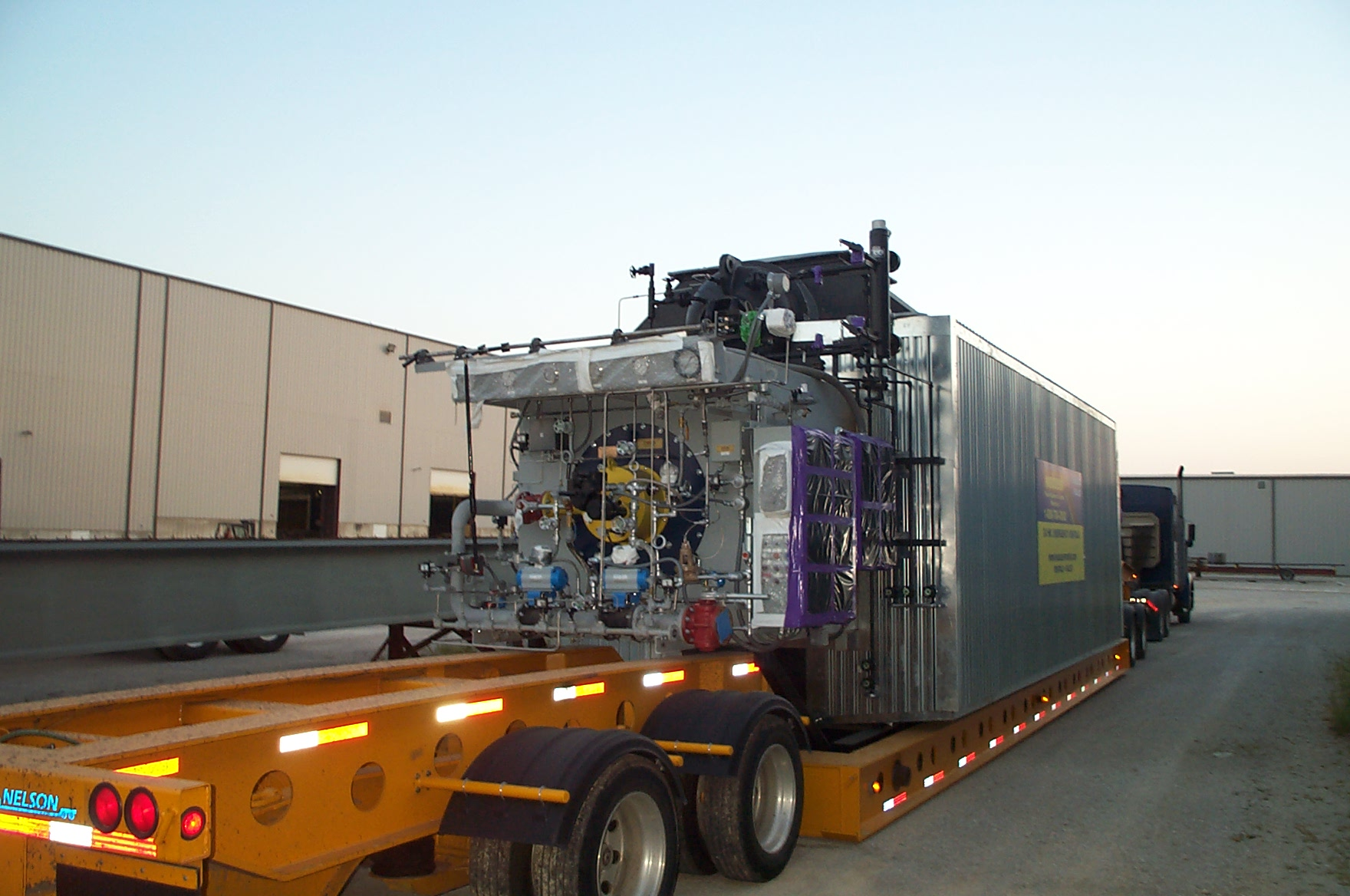 75,000#/Hour 750 PSI Optimus Packaged Water Tube Boiler