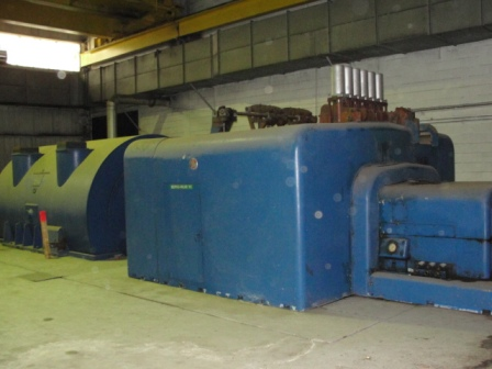 34000 kW 800 PSI General Electric Steam Turbine Generator Set