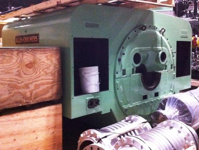 3000 kW 360 PSI Allis Chalmers Non-Condensing Steam Turbine Generator Set