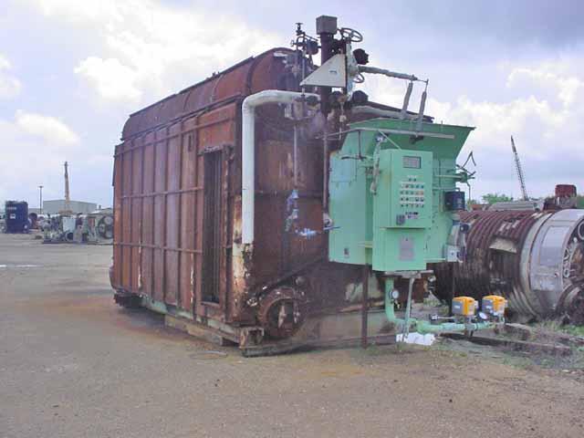 45,000#/Hour 650 PSI Keller Gas Fired Boiler