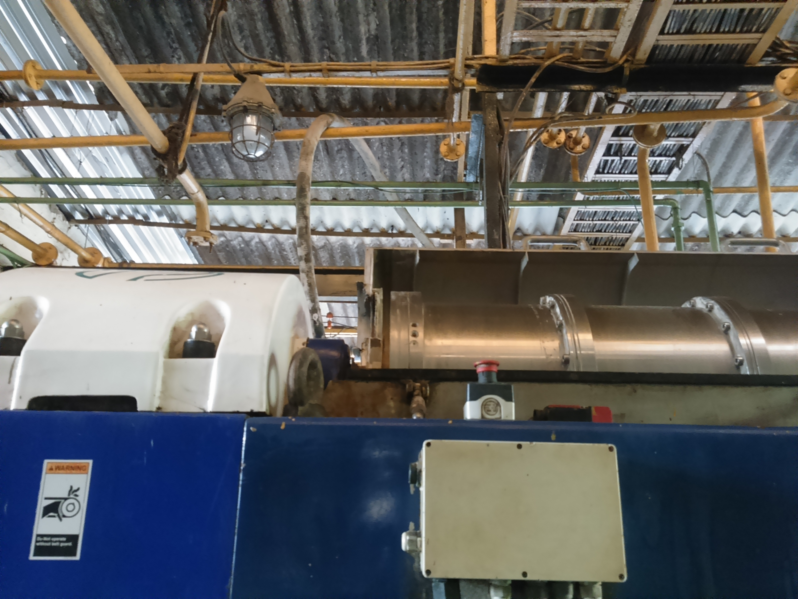 Alfa Laval NX418B-31G Stainless Steel Decanter Centrifuge