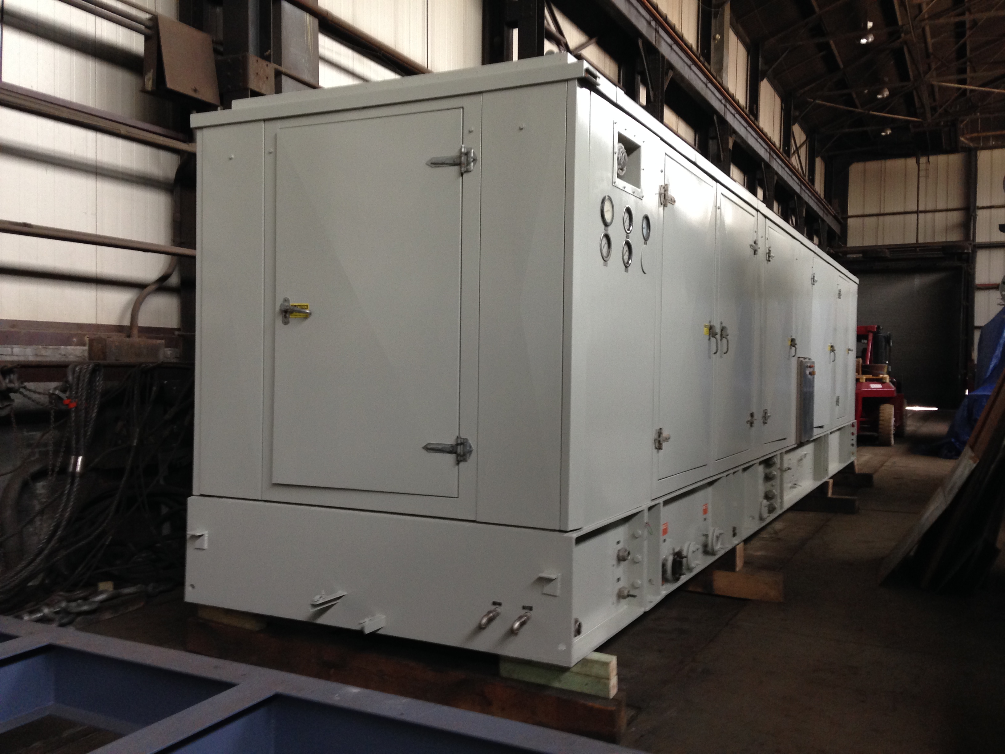 9450 kw Solar Mars 90 Gas Turbine Generating Set