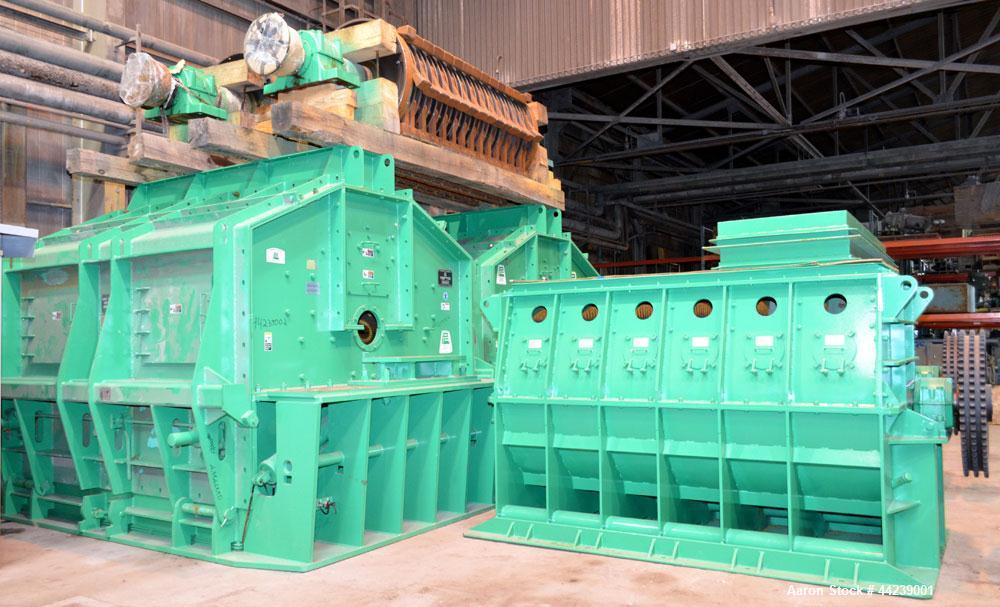 2500 HP Pennsylvania Coal Crusher Model SXCB-225 Carbon Steel Hammer Mill Unused