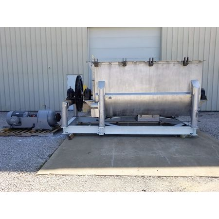 180 Cubic Foot JH Day 304 Stainless Steel Double Ribbon Blender Mixer