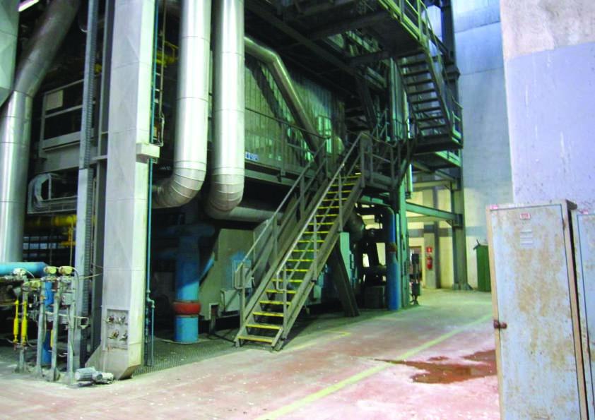 200,000#/Hour 1200 PSI Macchi Coal Fired Boiler