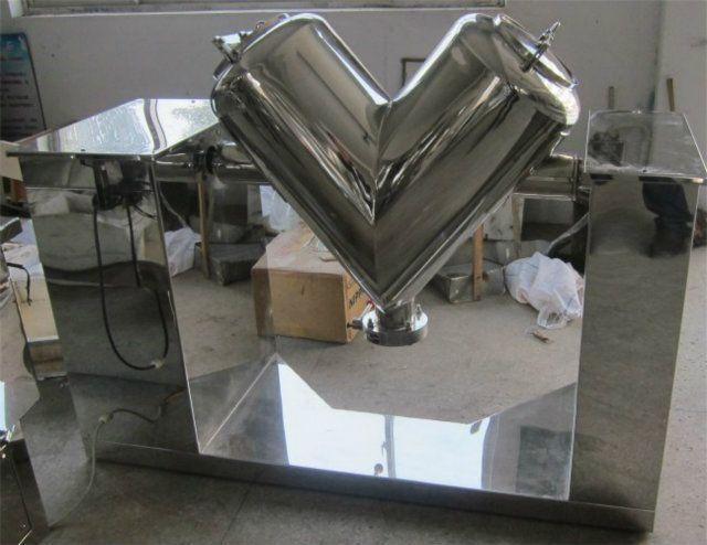 3.8 Cubic Foot Stainless Steel V-Blender