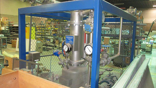 0.25 Sq. M. Rosenmund Guedu 316L Stainless Steel Type RGFD Filter Dryer