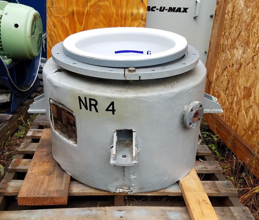 16.5 Gallon DeDietrich Pharma Glasslined Reactor Body