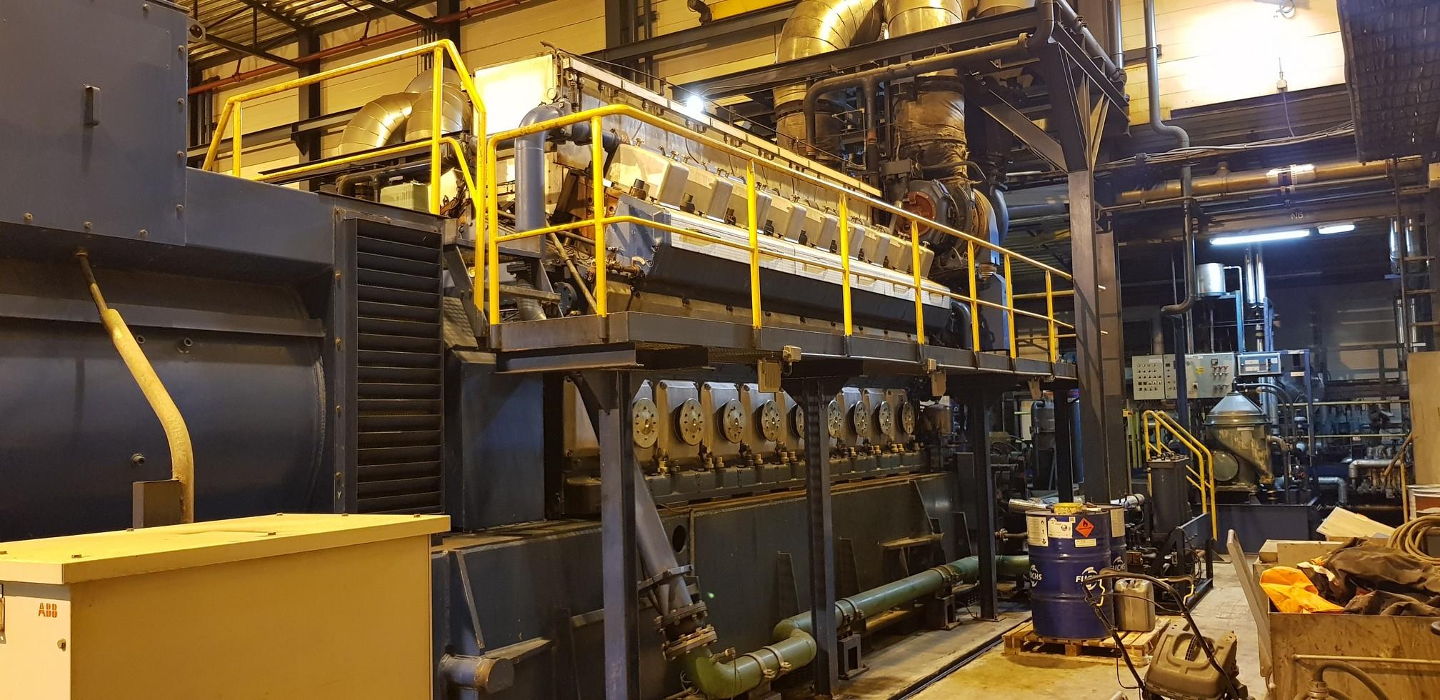 26000 KW 11000V 50HZ WARTSILA POWER PLANT         2000000-EU