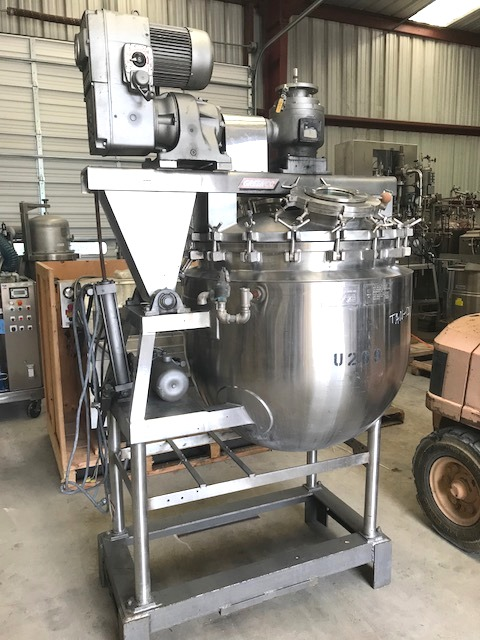 100 Gallon Pardo Stainless Steel Sanitary Vacuum Kettle