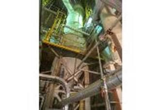 45,000 #/hour Titanium Evaporation System