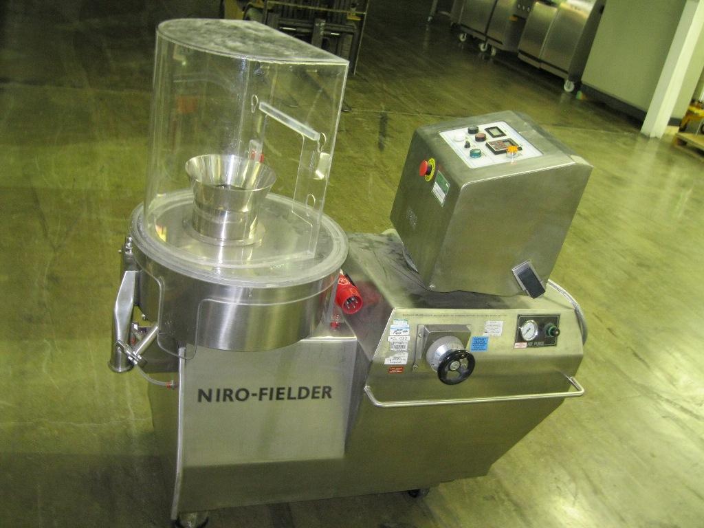 Niro Fielder Nica Model S-450 Stainless Steel Spheronizer