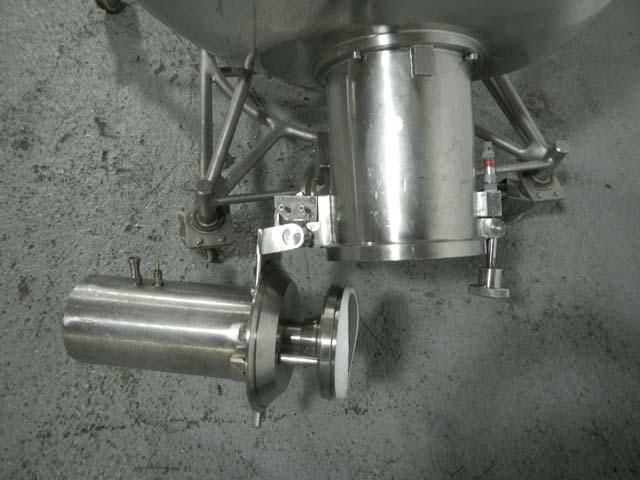 600 Liter Collette Model GRAL 600PRO Stainless Steel High Shear Mixer