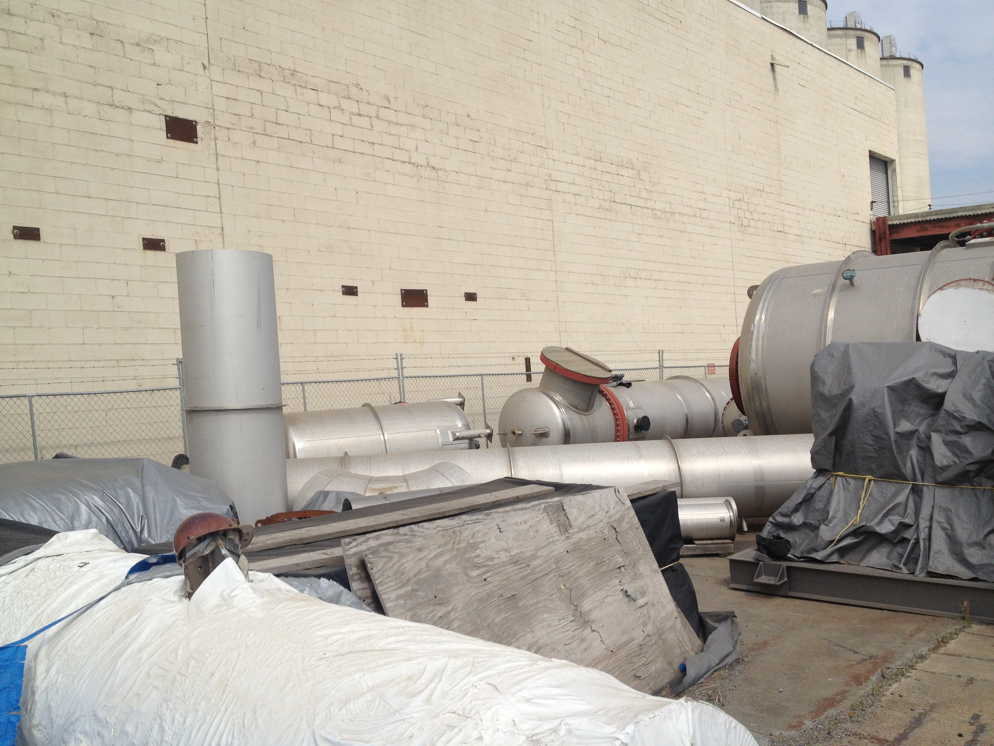 32696#/Hour, 2-Effect, 904L Stainless Steel Falling Film Evaporator