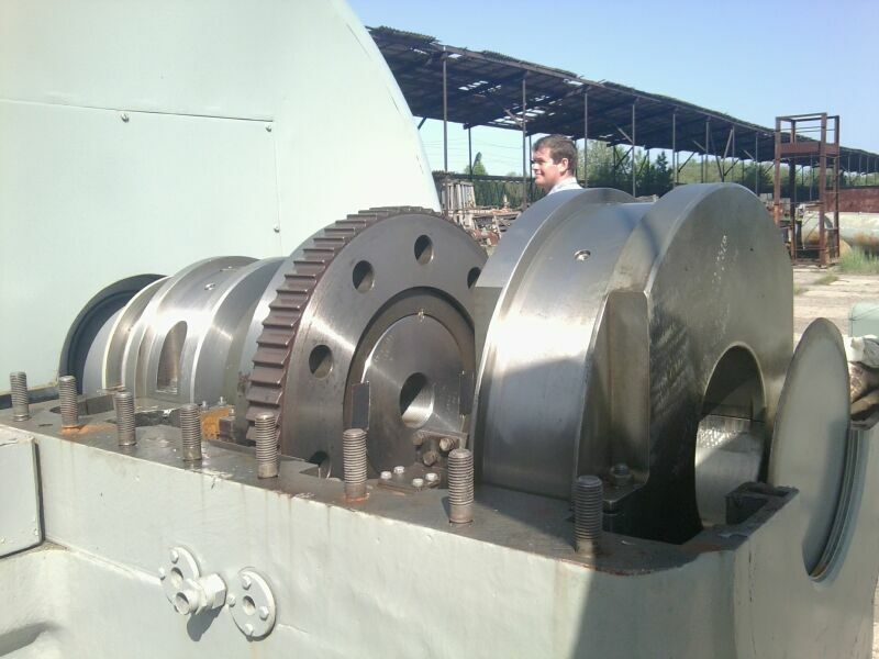 12000 kW 510/75 PSI Kaluga Steam Turbine Plant