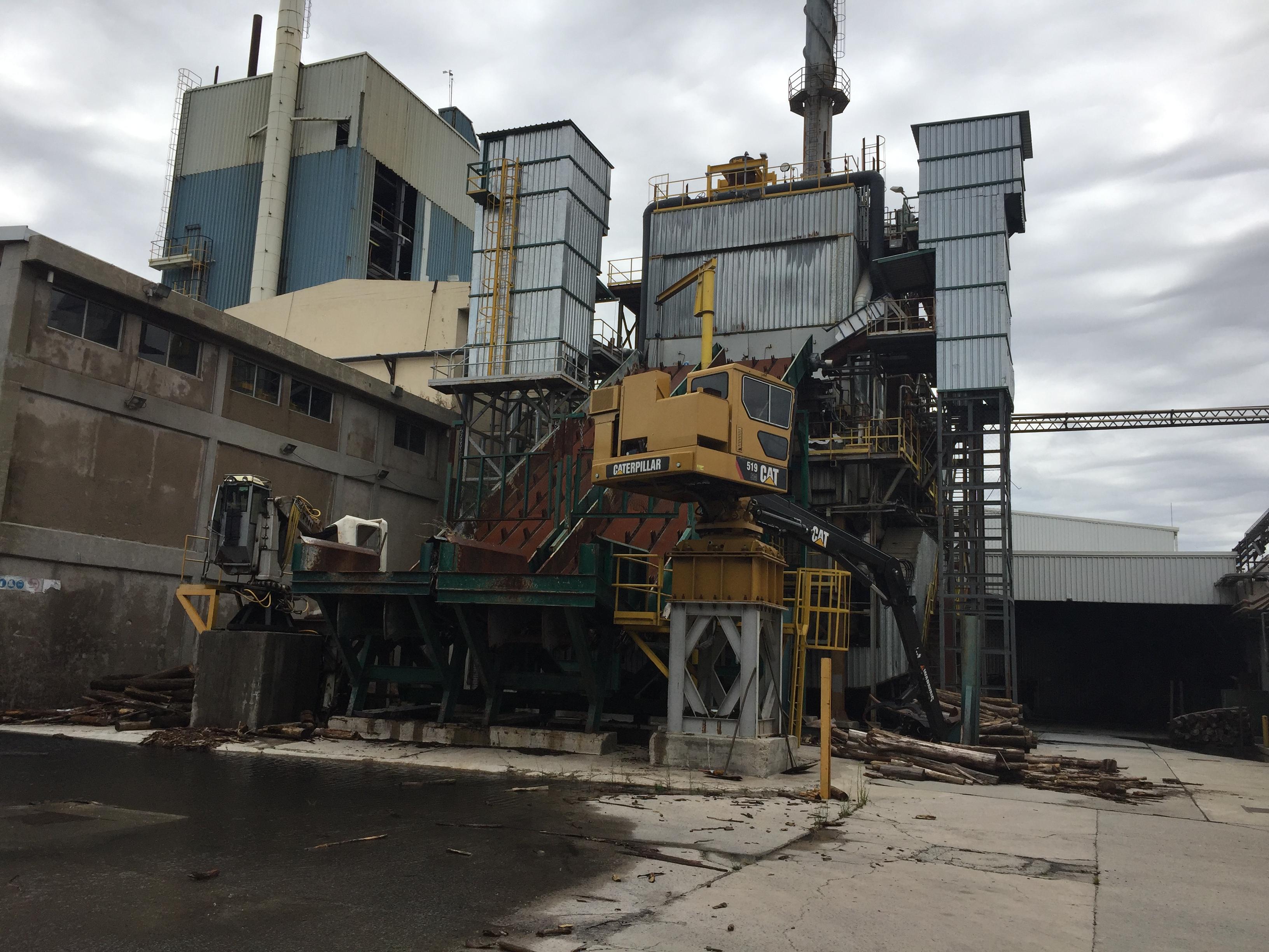 55 Tons/Hour TFU Turboflow Biomass Boiler