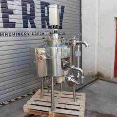 2,2 kW Fryma Model MZ-80 Stainless Steel Colloid Mill With Mixed and Heated Tank 50 Litre